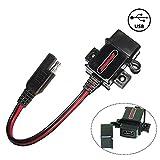 MOTOPOWER 3.1Amp Caricabatterie USB per moto per la ricarica di telefoni cellulari, GPS o videocamere sportive