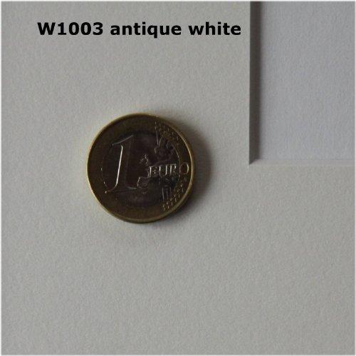 Premium Passepartout 30 x 40 cm, Ausschnitt 19 x 29 cm (W1003 antique white)