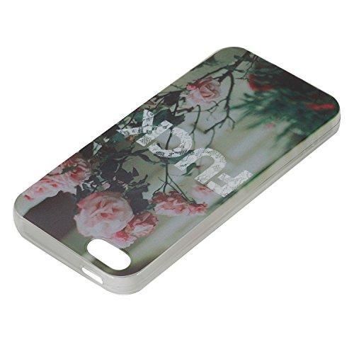 Apple iPhone 6S Hülle,iPhone 6 Silikon TPU Gel Case,Ekakashop Ultra dünn Slim Kreativ Design Durchsichtig Transparent Crystal Klar Flexible Gel Case Schutzhülle Defender Bumper Tasche Hüllen für Apple Fuck