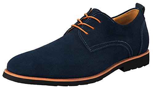 iLoveSIA Men's Oxford Leather Su...