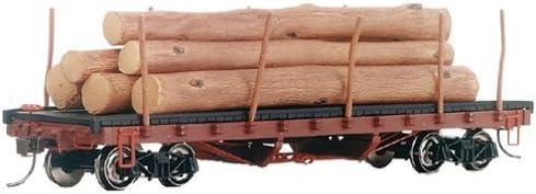 BachFemmen Trains ACF 40' Log Car   Logs (1906-1935) by BachFemmen Trains | Merveilleux