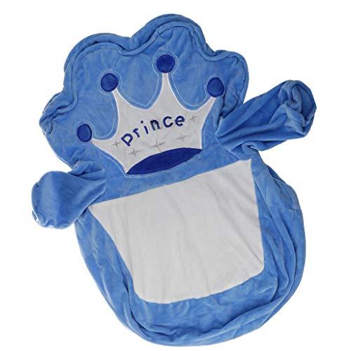 LOVIVER Ersatzbezüge für Kinder Sessel Kindersessel Mädchen , Kinder Kleinkind Sitzsack Cover - Prince -Blau