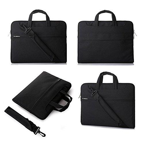 Z&HXLaptop-Tasche Laptop-Tasche und weise beil?ufige wasserdichte Multifunktions Black