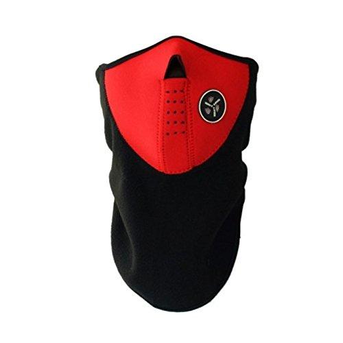 Liying Unisex Skimaske Neopren-Maske Sturmhaube Gesichtsmaske Kopfhaube Halstuch Funktionsmaske Mütze Schal Motorradmaske Halswärmer Facemas für Winter Herbst Outdoor Sport