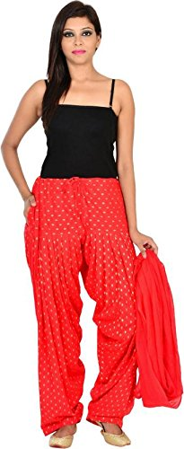 JAIPUR FASHION HUB Women's/Girl's readymade Bottom (GOLDEN BOOTI) 100% Pure Cotton Full...