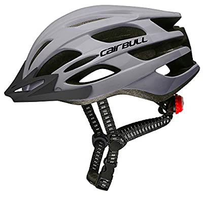 Cairbull Man/Women Cycling Helmet adult Road Mountain Bike Helmet Equipped with LED light/Sunglasses Visor/Brim by Cairbull