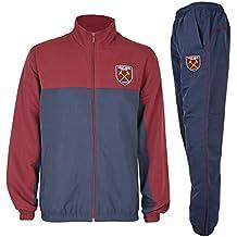 West Ham United FC - Chándal Oficial para Hombre - Chaqueta y pantalón Largo