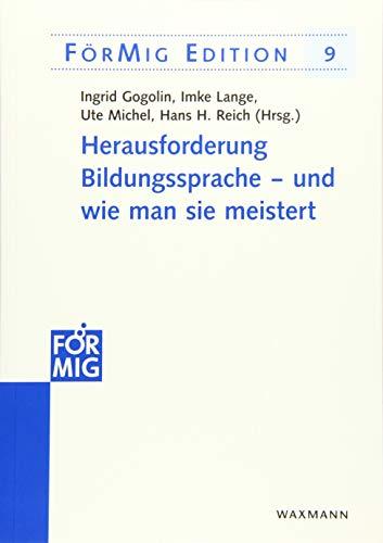 ungssprache  und wie man sie meistert (FörMig Edition, Band 9) ()