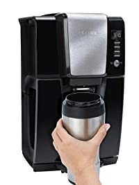 Mr. Coffee BVMC-ZH1B Power Serve 12-Cup Coffeemaker, Black