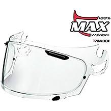max-vision Arai moto casco visera-transparente-Chaser-V/Axcess-2/Rebel + más