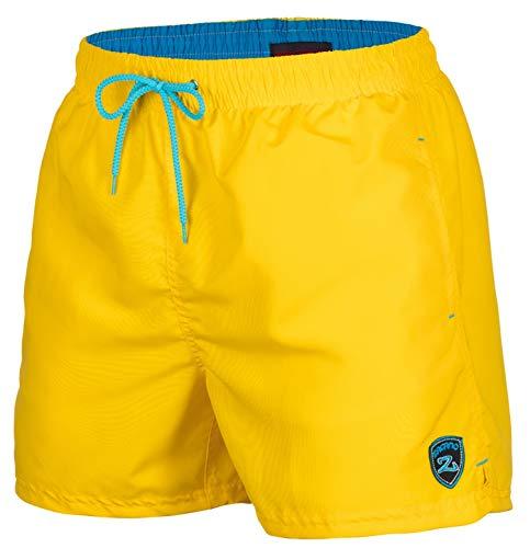 Zagano Adam Lipski Herren Badeshort, 5106, Yellow, Gr. S