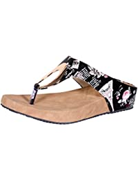 857769f8ce3fb Indistar Womens Fashionable   Stylish Party Wear Casual and Formal Flats Flip  Flop for Women