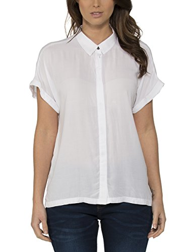 Bench Delicate - Blouse - Femme Blanc - Weiß (Bright White WH001)