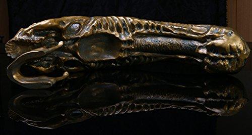 Depredador Vs Alien Modelo De Resina Cráneo Fósil AVP Figura Estatua De Juguete De Colección 6