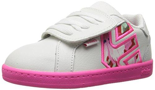 Etnies - Toddler Fader LS, Scarpe infantile bianco(White Pink Pink)