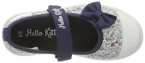 Hello Kitty Mädchen Hk Matilda Geschlossene Ballerinas Blau (Navy)
