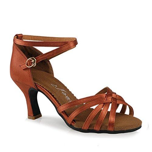 WXMDDN Latin Dance Shoes Orange Dancing Shoes Adult Children Soft Soles Exercise Shoes Dance Shoes Four Seasons