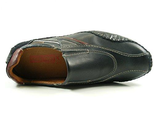 Pikolinos 15A-6079 Fuencarral Schuhe Herren Halbschuhe Slipper Blau