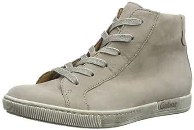 Gabor Shoes Gabor 83.123.12 Damen Sneaker, Grau (visone), EU 42.5 (UK 8.5) (US 11)