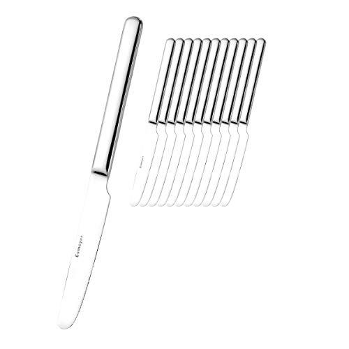 Esmeyer 250-089 12er Pack Menümesser Bettina aus Edelstahl 13/0, poliert. Gewicht je Messer 80g