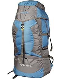 b7fd0c9e54f8 TRAWOC 55L Travel Backpack for Outdoor Sport Camp Hiking Trekking Bag  Camping Rucksack SHK004 1 Year