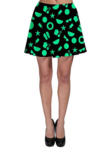 CowCow - Jupe - Femme Red Summer Menthe