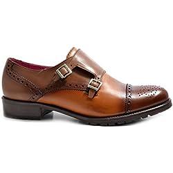 VITELO - Zapatos de Vestir mujer , color Negro, talla 42 EU