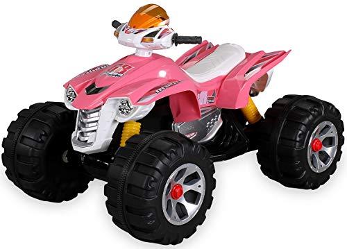 Kinder Elektro Quad BURST 2 x 35 Watt Motor Original Kinder Elektro Auto Kinderauto Kinderfahrzeug (pink)