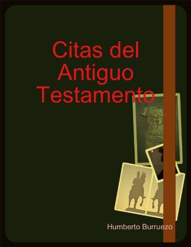 Citas Famosas Antiguo Testamento