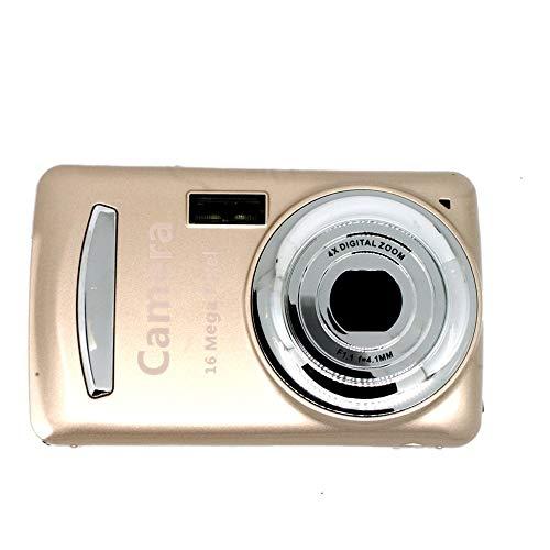Children's Durable Practical 16 Million Pixel Compact Home Digital Camera Gold -
