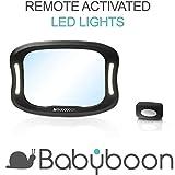 Rücksitzspiegel für Babys LED-Licht - Behalten Sie Ihr Kind auch