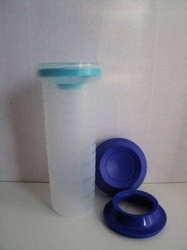 TUPPERWARE Mix-max coctelera Mix-Fix de medición - batidor de 750 ml quick-shake