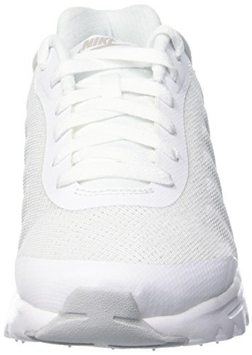 Nike Wmns Air Max Invigor, Chaussures de Sport Femme Blanc Cassé - Blanco (White / Metallic Silver)