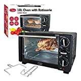 Best Toaster Ovens - Quest Benross Mini Oven with Rotisserie, 18 Litre Review