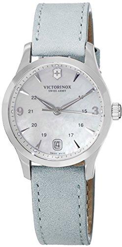 Victorinox-Alliance, quadrante in madreperla, cinturino in pelle, 241661-Orologio da donna