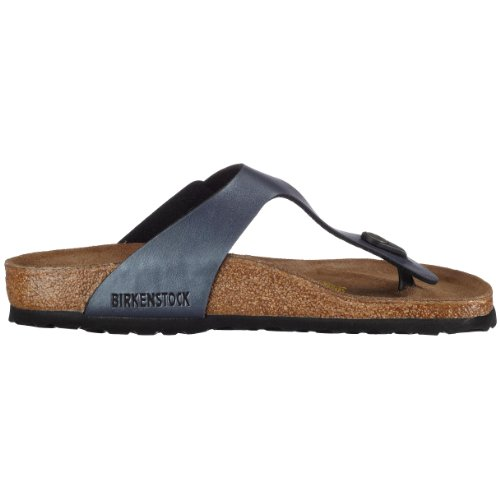 Birkenstock Gizeh - Tongs mixte adulte Gris (Ice Pearl Onyx)
