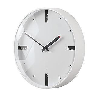 Sigel WU112 Acto Wall Clock, dim. 36 cm, White