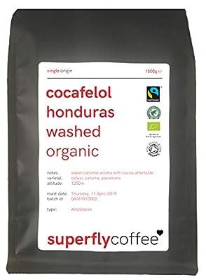 SUPERFLY - COCAFELOL Organic Bulletproof Coffeee | Single Origin Arabica | Triple Certified Honduran Coffee by SUPERFLY