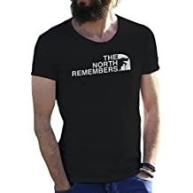 The North Remembers Game of Thrones T-Shirt pour Les Hommes