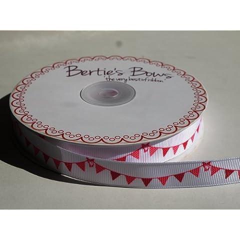 3 m, colore nastro decorativo con bandierine Ribbon. per cucito, confezioni regalo, cartoline, progetti creativi e Scrapbooking.