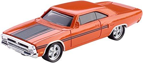 Mattel FCF37 Metal vehículo de Juguete - Vehículos de Juguete, Coche, Metal, Fast & Furious, 1970 Plymouth Roadrunner, 3 año(s)