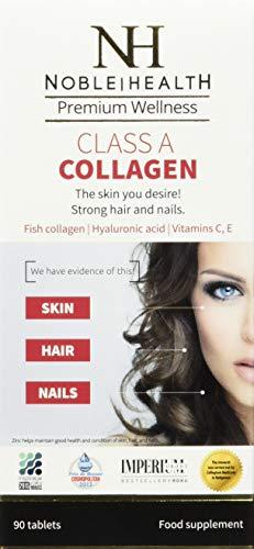 Noble Health Premium Wellnes Class A Collagen Meereskollagen Noble Health Tabletten, 61 grams