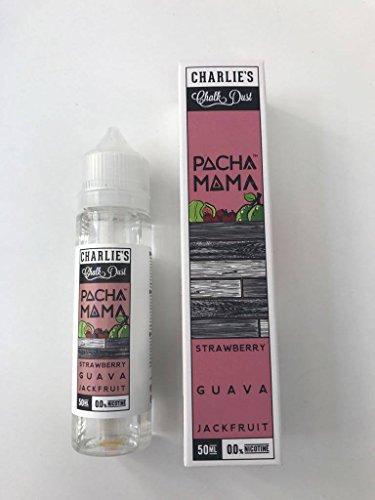 Charlies Chalk Dust - Shake & Vape 50ml E-Liquid ohne Nikotin (Pacha Mama - Strawberry Guava Jackfruit) (Mama Strawberry Mama)