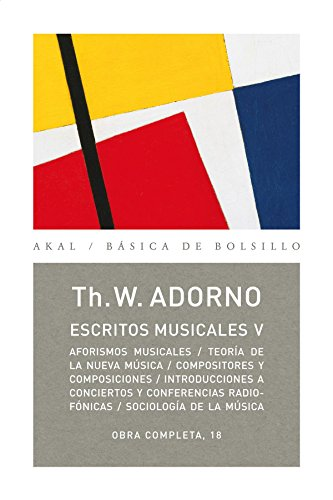 Escritos musicales V: 5 (Básica de Bolsillo)