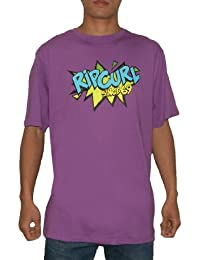 Herren RIP CURL CREW-NECK SURF Kurzarm T-Shirt