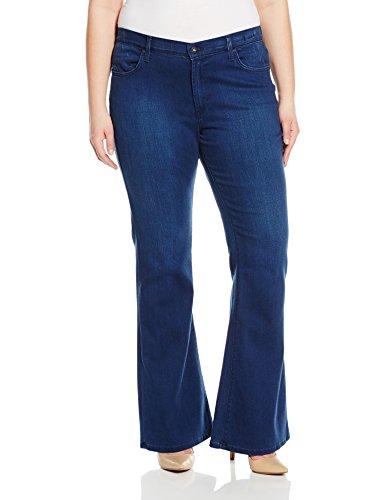 James Jeans Women's Plus-Size Juliette Curvy Flared-Leg Jean In Retro