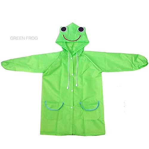YUELANG Waterproof Kids Raincoat For Children Rain Coat Rainwear/Rainsuit Student Poncho Drop Shipping Baby