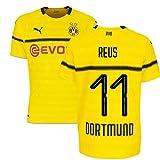 2018-19 Borussia Dortmund Home UCL Football Soccer T-Shirt Trikot (Marco Reus 11)