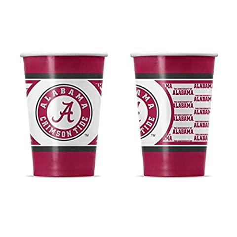 NCAA University of Alabama Disposable Paper Cups