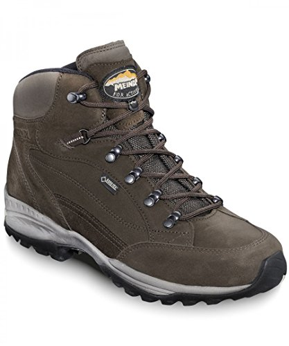Meindl  3896-46,  Scarponcini da camminata ed escursionismo uomo Marrone dunkelbraun Edmonton GTX 42 2/3